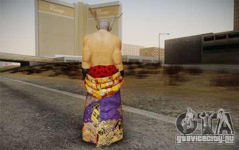 Heihachi Mishima v2 для GTA San Andreas второй скриншот