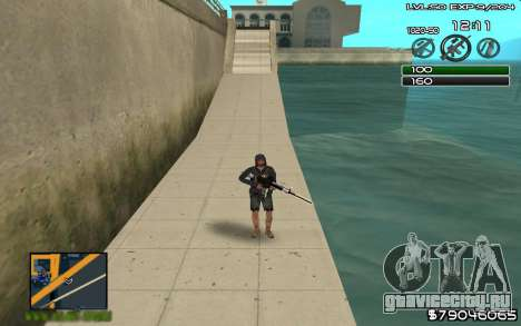 C-HUD by SampHack v.8 для GTA San Andreas