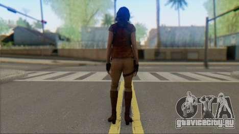 Helena Harper для GTA San Andreas второй скриншот