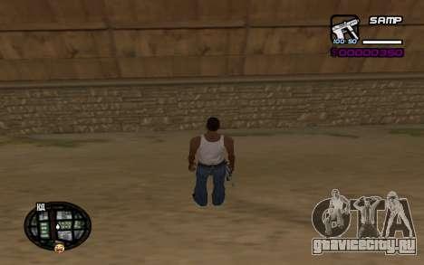 Hud by Videlka для GTA San Andreas
