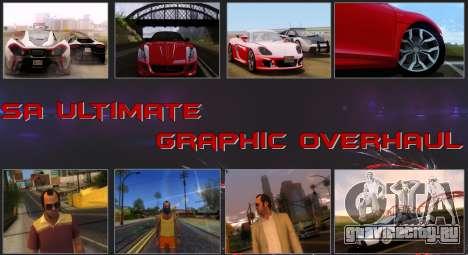 SA Ultimate Graphic Overhaul для GTA San Andreas