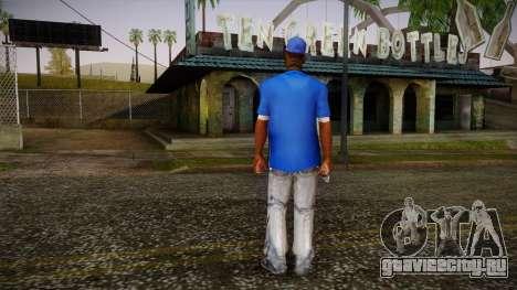 Sweet Blue Skin для GTA San Andreas второй скриншот