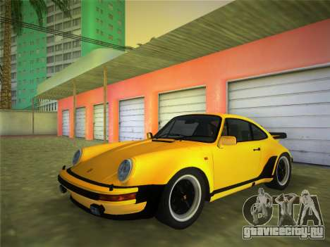 Porsche 911 Turbo 3.3 Coupe US-spec (930) 1978 для GTA Vice City