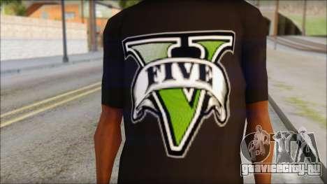 GTA 5 T-Shirt для GTA San Andreas третий скриншот
