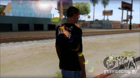 Jack Daniels T-Shirt для GTA San Andreas второй скриншот