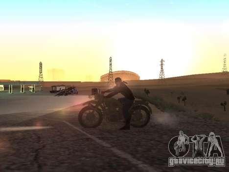 Урал М72 для GTA San Andreas вид слева