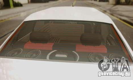 Peugeot Pars Limouzine для GTA San Andreas вид сзади
