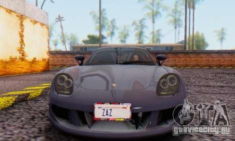 Porsche Carrera GT 2005 для GTA San Andreas вид слева
