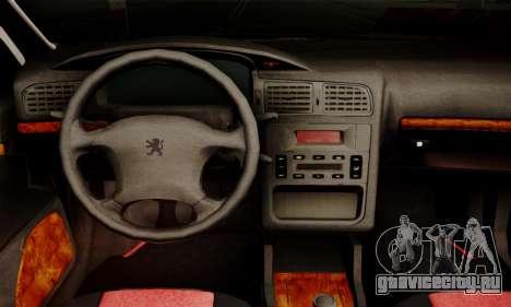 Peugeot Pars Limouzine для GTA San Andreas вид сзади слева