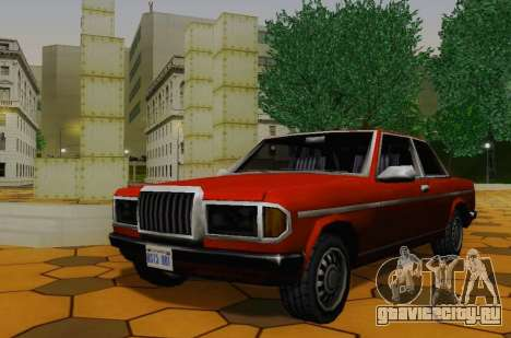 Admiral Сoupe для GTA San Andreas