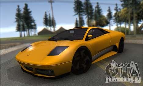 Pegassi Infernus для GTA San Andreas вид слева