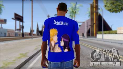 IchiRuki T-Shirt для GTA San Andreas второй скриншот