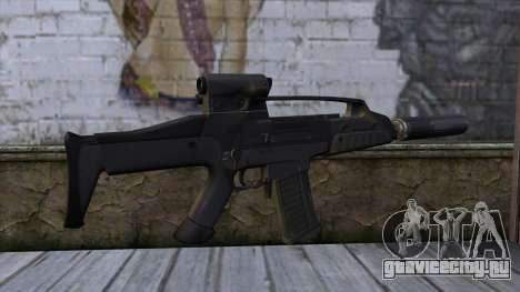 XM8 Compact Black для GTA San Andreas второй скриншот