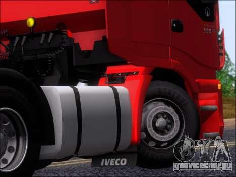 Iveco Stralis HiWay 560 E6 6x4 для GTA San Andreas вид сбоку