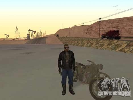 Урал М72 для GTA San Andreas вид справа