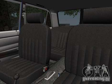 ВАЗ 21061 для GTA San Andreas вид сверху