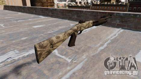 Ружьё Benelli M3 Super 90 benjamins для GTA 4 второй скриншот