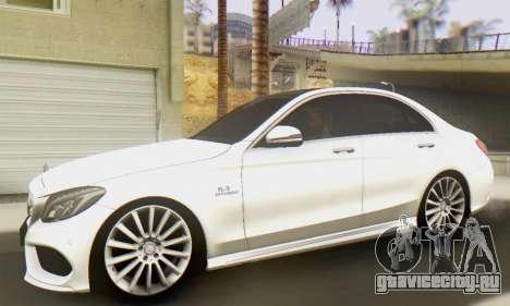 Mercedes-Benz C250 AMG для GTA San Andreas вид слева