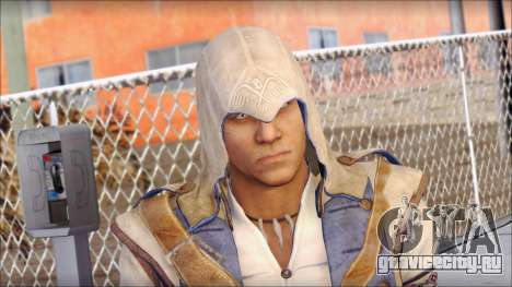 Connor Kenway Assassin Creed III v1 для GTA San Andreas третий скриншот