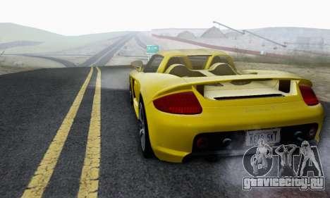 Porsche Carrera GT 2005 для GTA San Andreas вид сбоку
