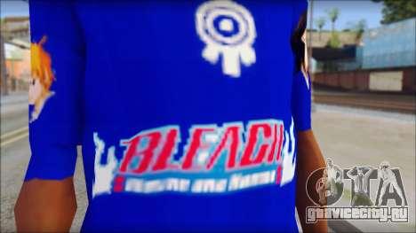 IchiRuki T-Shirt для GTA San Andreas третий скриншот