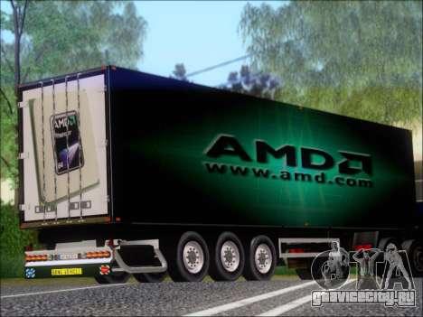 Прицеп AMD Phenom X4 для GTA San Andreas вид справа