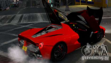 Ferrari LaFerrari WheelsandMore Edition для GTA 4 вид сбоку