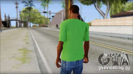 Pozilei T-Shirt для GTA San Andreas второй скриншот