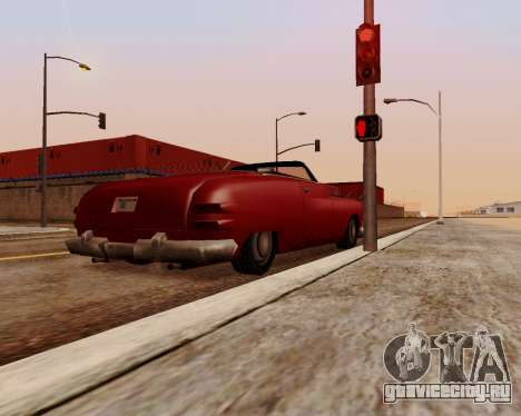 Hermes Кабриолет для GTA San Andreas вид сзади слева