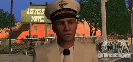 Navy Officer для GTA San Andreas третий скриншот