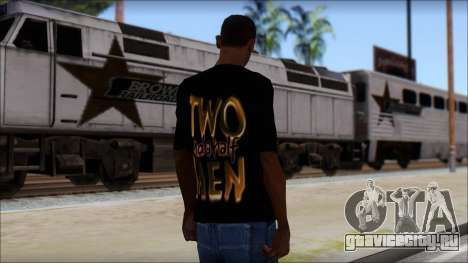 Two and a half Men Fan T-Shirt для GTA San Andreas второй скриншот