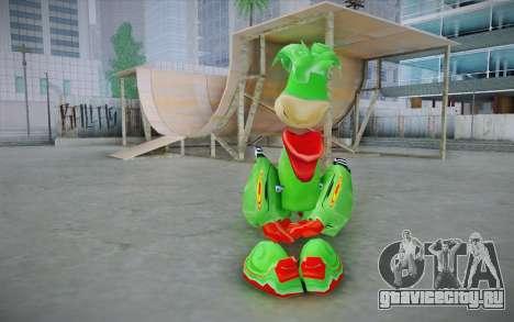 Vortex Rayman Skin для GTA San Andreas второй скриншот