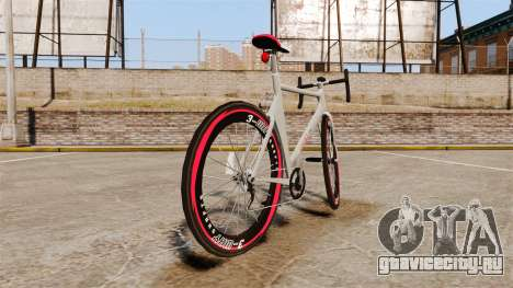 GTA V Endurex Race Bike для GTA 4 вид сзади слева