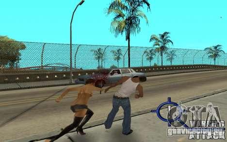 Warning Attack для GTA San Andreas