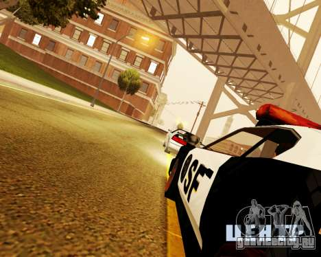 Jester Police SF для GTA San Andreas вид справа