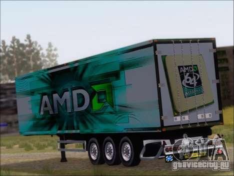 Прицеп AMD 64 Athlon X2 для GTA San Andreas вид сзади слева