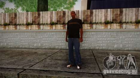 Black RX T-Shirt для GTA San Andreas третий скриншот