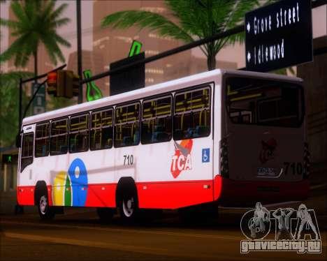Neobus Mega IV - TCA (Araras) для GTA San Andreas вид сзади слева