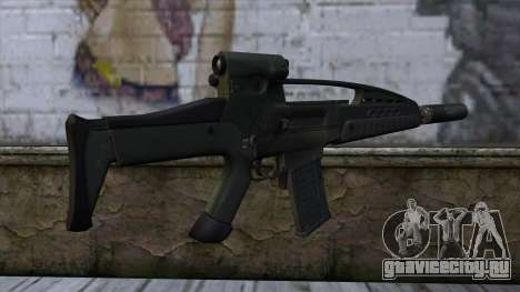 XM8 Assault Olive для GTA San Andreas второй скриншот