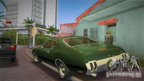 Oldsmobile 442 1970 для GTA Vice City вид слева