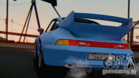 Porsche 911 GT2 (993) 1995 V1.0 SA Plate для GTA San Andreas салон