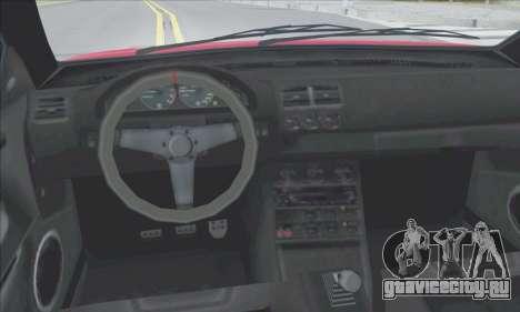 Übermacht Sentinel XS для GTA San Andreas двигатель