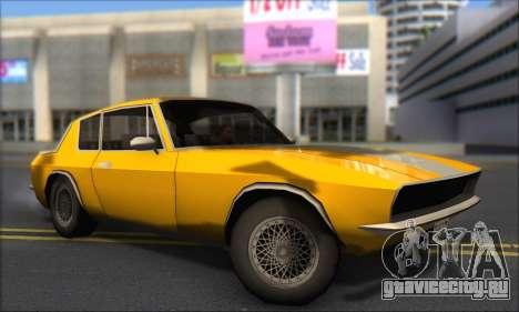 Jensen Intercepter 1971 Fast And Furious 6 для GTA San Andreas