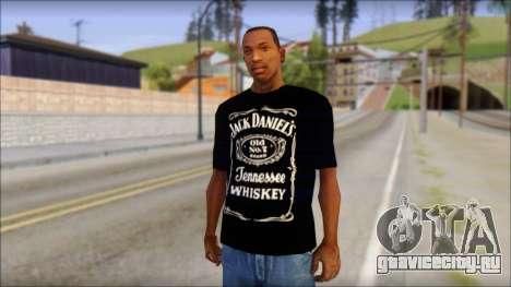Jack Daniels T-Shirt для GTA San Andreas