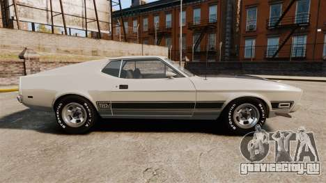 Ford Mustang Mach 1 1973 v3.0 GCUCPSpec Edit для GTA 4 вид слева