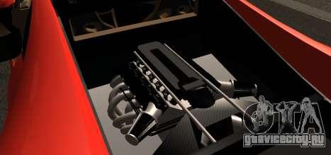 Spano Black для GTA San Andreas вид справа