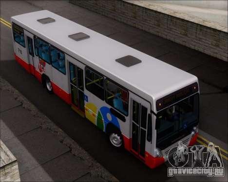 Neobus Mega IV - TCA (Araras) для GTA San Andreas вид сверху