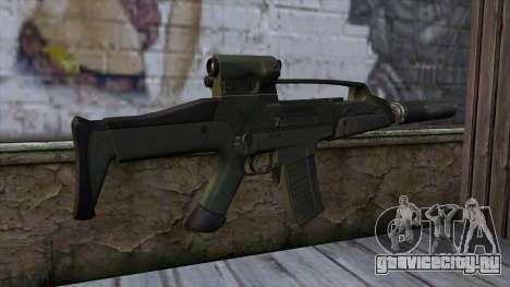 XM8 Compact Green для GTA San Andreas второй скриншот
