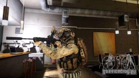 M4A1 V1.1 для GTA 4 второй скриншот