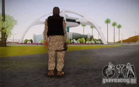 Fuerzas Especiales для GTA San Andreas второй скриншот